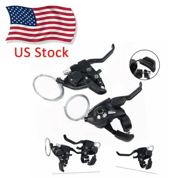 EF65-9 MTB Road Mountain Bike Brake Levers Shifter Levers Set 3 x 9 Speed Cute