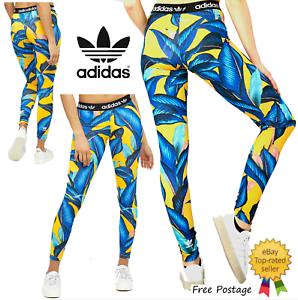 Nuevos Leggings Para Mujer Adidas Originals Granja Palma Tallas Grandes Gastos De Envio Gratis Ebay