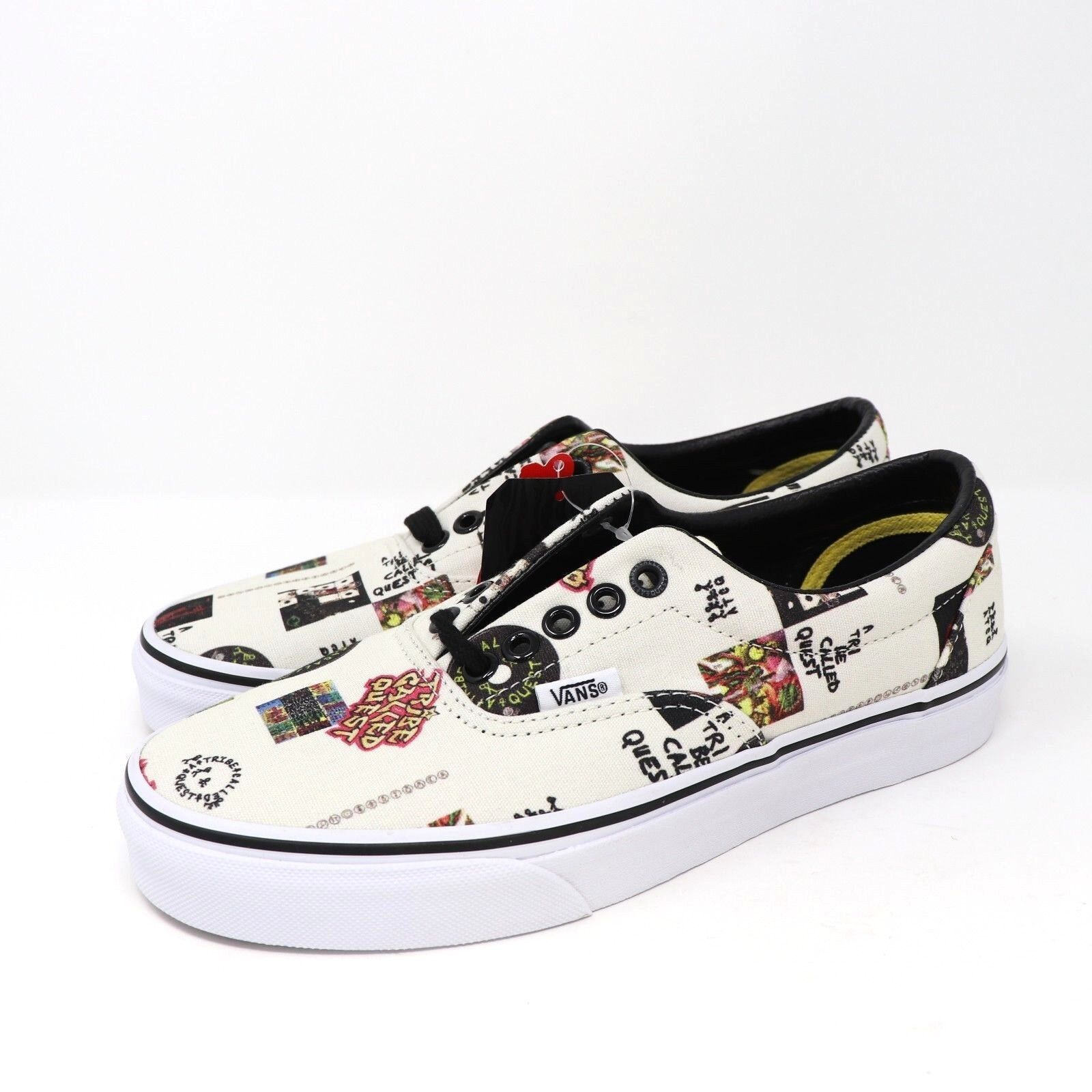 Vans Era X ATCQ Print A Tribe Called Quest Limited Edition Uomo's Shoes Size 6.5