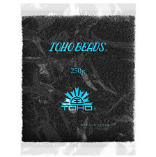 Toho Wholesale Size 15/0 (1.5mm) Opaque Frosted Jet Seed Beads 100g (N55/1)