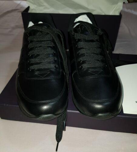 Prada zapatillas para hombre 9Uk Fitts 10Uk Negra BNWT