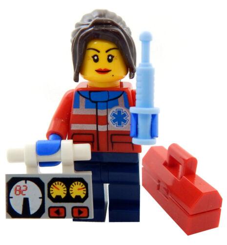 NEW LEGO MEDIC FIRST RESPONDER SET female e.m.t fireman fire fighter ambulance