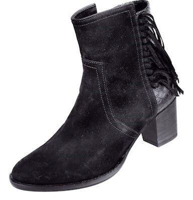 Sonderangebot Gabor Stiefeletten schwarz Schuhe Damen Nubuk kombi Weite G 2908   eBay