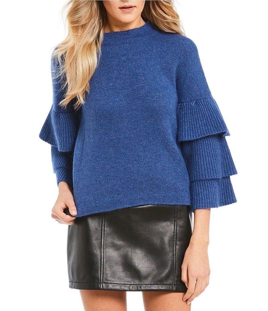 Gianni Bini sweater 3 4 Bell Sleeves Size S