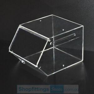 Acrylic Candy Storage Box 24x30x20cm Clear Plastic