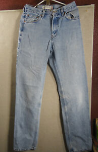 LEVIS-550-RELAXED-STRAIGHT-MEN-039-S-DENIM-JEANS-30-36-GOOD-CONDITION