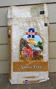 Details About Lot Of 25 Empty Albers Animal Feed Woven Plastic Bags For Crafts