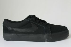 Nike Sb Satire Ii Kids Womens Black Anthracite Youths 729810 003