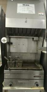 Giles flat top grill - ventless hood sytem - refurbished with warranty Canada Preview