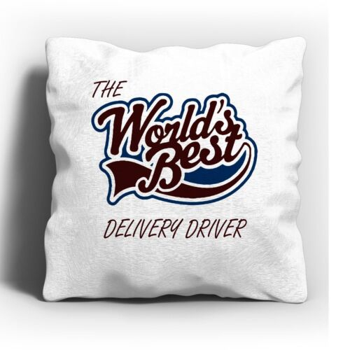 The Worlds Best Delivery Driver Cushion