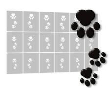 18 Airbrush Schablone selbstklebend, Airbrush Nailart Stencils für Nägel