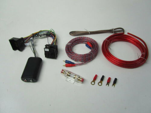 High low Converter Opel Astra H cable set frase amplificador subwoofer 10mm²