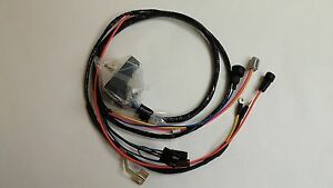 image is loading 1969-camaro-nova-engine-starter-wiring-harness-307-