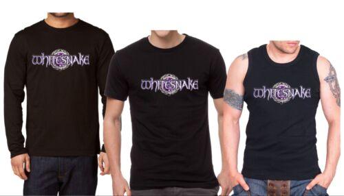 Whitesnake Purple Men/'s T-shirt Long Sleeve Shirt Tank Top Vest