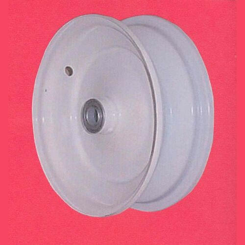 """Two 6 /""""x 2-1//2/"""" Garden Tractor Front Rims Wheels fit 3.50-6 /& 4.10-6 Tires"""