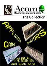 La collezione Acorn-Ghianda/BBC Micro DVD pieno di file del disco/Emulatori ecc.