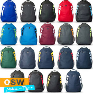 9c4a60e433d0 Image is loading TASMAN-600D-SPORTS-WORK-SCHOOL-GYM-TRAINING-BACKPACK-