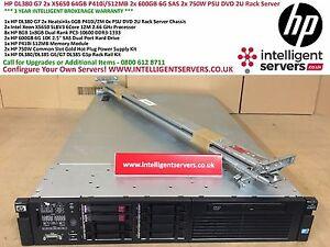 HP-DL380-G7-2x-X5650-64GB-P410i-512MB-2x-600GB-6G-SAS-2x-750W-DVD-2U-Rack-Server