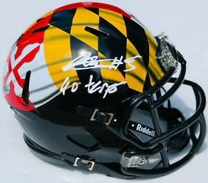 PSA-DNA-Maryland-Terrapins-ANTHONY-MCFARLAND-Signed-Autographed-Mini-Helmet