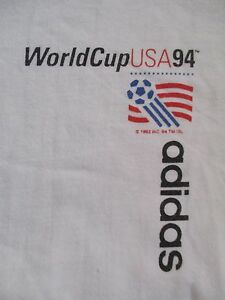 Adidas U.S.A. 94 WORLD SOCCER (LG) T-Shirt