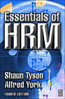 Essentials of HRM by Alfred York, Shaun Tyson (Paperback, 2000)