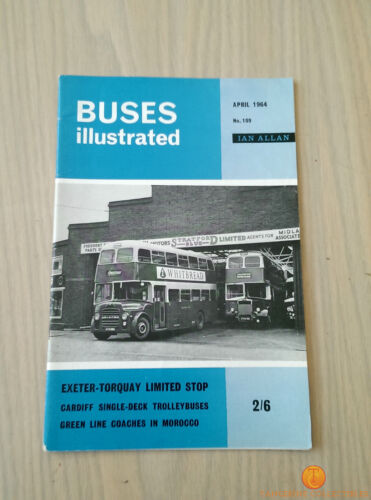 Buses Illustrated Magazine Choice Of Issues From 1962-1968
