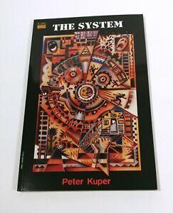 The-System-by-MAD-Artist-Peter-Kuper-1997-Vertigo-DC-TPB-NM-Wordless-Story-1st