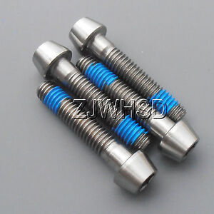 4pcs-M6-x-30-mm-Titanium-Ti-Screw-Bolt-Allen-Hex-Taper-Socket-Cap-Head-Blue