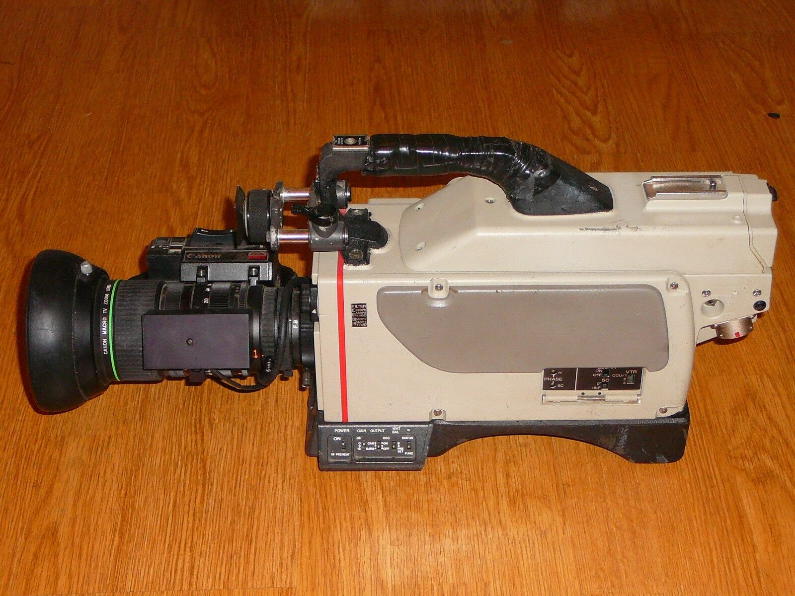 s l1600 - SONY DXC-M7 Professional Camera with Camera Control Unit Deck  Local Pickup Only