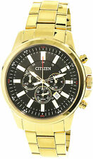 Citizen Men's Urban An8082-54e Gold Stainless-steel Japanese Quartz Dress Watch