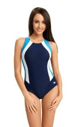 Womens One Piece Swimming Costume Swimwear Size UK 8 10 12 14 16 18 20 22