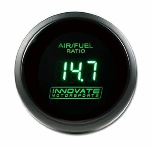 Details about Innovate LC2 Wideband DB 52mm GREEN LED Gauge LC-2 (DISPLAY  GAUGE ONLY) 3872