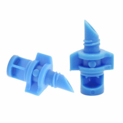 50pcs Mini Garden Lawn Water Spray Misting Nozzle Sprinkler Irrigation System