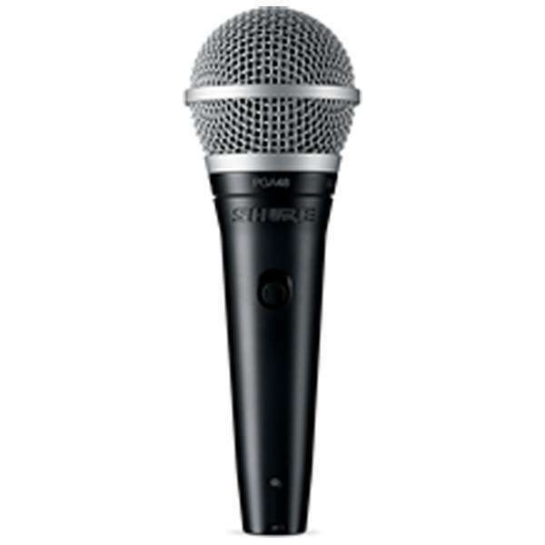 New  Shure Vocal microphone (dynamic type )PGA48-XLR for MICLINK WIRELESS