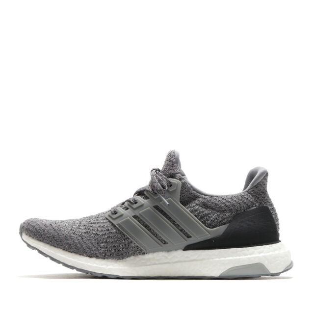 34e0dd4be45dc NEW Adidas Ultra Boost 3.0 Grey Three Gray Black White S82023 Men s
