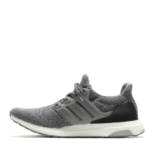 344d74430fffe NEW Adidas Ultra Boost 3.0 Grey Three Gray Black White S82023 Men s