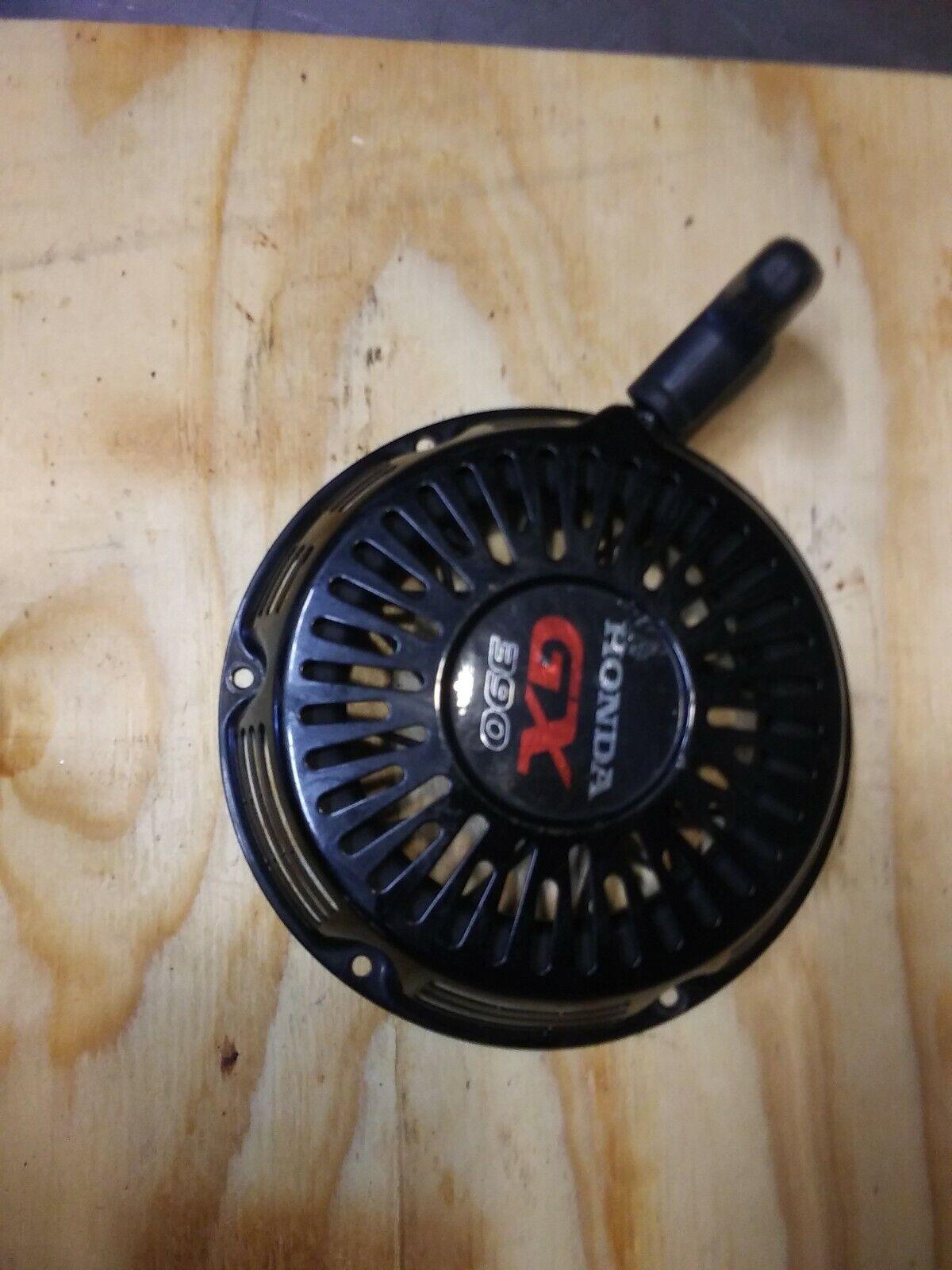 Fabricante de equipos originales usados Negro Pull Estrellat Arrancador De Retroceso Para HONDA GX390 13HP Motor