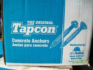 Original-TAPCON-s-5-034-length-x-1-4-034-diameter-500-pcs-NEW-BOX