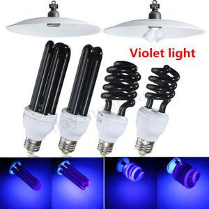 Es Vis Lampe E27 20 w uv ultraviolet blacklight Basse Énergie Cfl Ampoule
