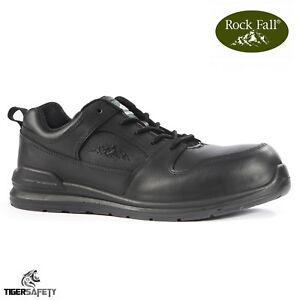 f52b8868db6 Details about Rock Fall Chromite RF660 S3 SRC Black Lightweight 100% Non  Metallic Safety Shoes