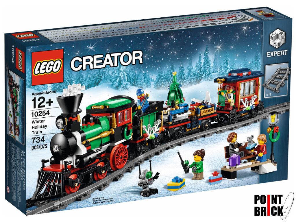 LEGO 10254 CREATOR EXPERT Treno di Natale - Winter Holiday Train
