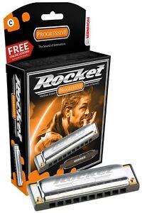 Hohner Rocket Harmonica - Key of C, Brand New In Box