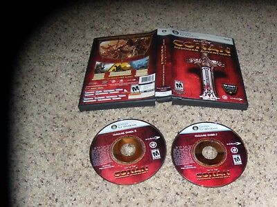 Age Of Conan Hyborian Adventures (pc, 2008) Near Mint Game With Box