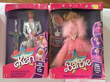 "Barbie & Ken "" SuperStar "" NRFB 1989"