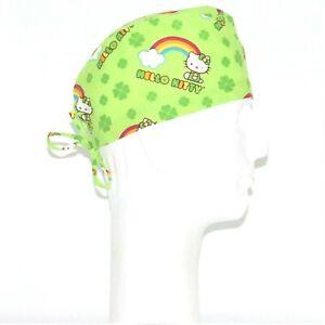 St Patrick/'s Day on Green Scrub Hat