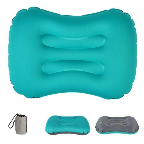 Portable Travel Inflatable Pillow Office Neck Waist Protective Soft Cushion
