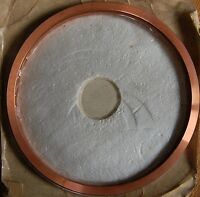 COPPER GASKETS 203mm id, 222mm od – 7 off