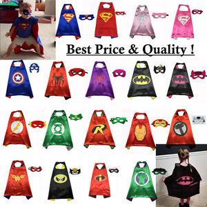 Superhelden-Super-hero-fasching-Kinderkostuem-cape-Umhang-Maske-Junge-Maedchenkids