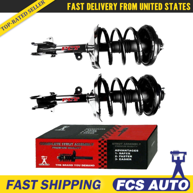 Front Complete Loaded Strut & Spring Coil Assembly For