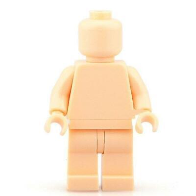 NEW Blank Flesh Nude Color Mini Figure Compatible with Bricks